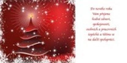 Obrázek Novoročenky jednolisté - H581 / červený stromeček
