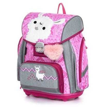 Obrázek Školní batoh PREMIUM / Lama