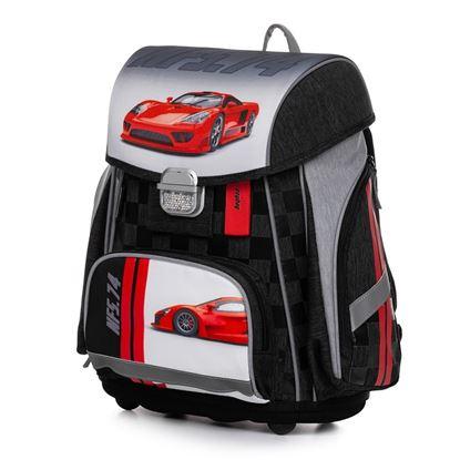 Obrázek Školní batoh PREMIUM / Auto