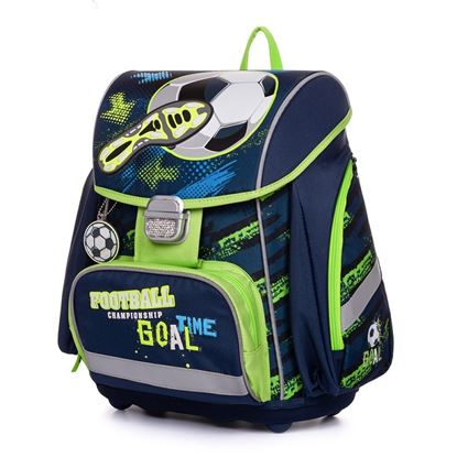 Obrázek Školní batoh PREMIUM / Fotbal