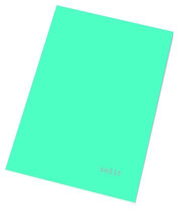 Obrázek Sešit A5 / 40 listů / linka - 544 / mix barev