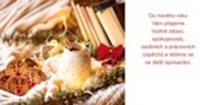 Obrázek Novoročenky jednolisté - H584 / dekorace s perníčky