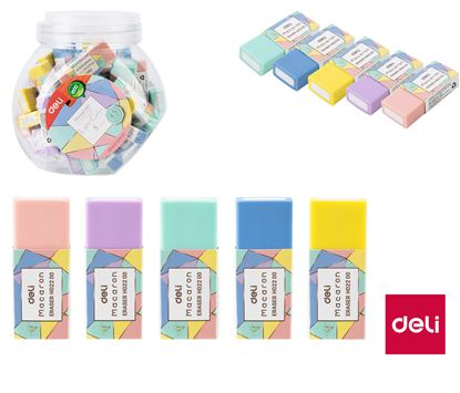 Obrázek DELI pryž Macaron barevný mix E330535