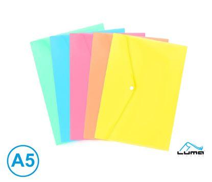 Obrázek Spisové desky s drukem - A5 / pastelový mix barev