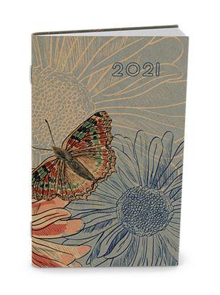 Obrázek Baloušek tisk Alois Kraft kapesní čtrnáctidenní 2021 motýl