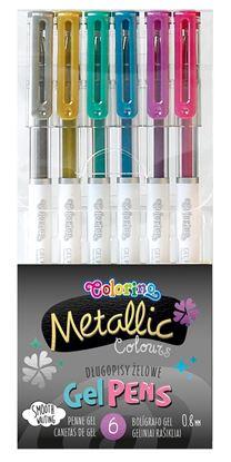 Obrázek Gelová pera Colorino - Metalic / 6 barev
