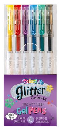 Obrázek Gelová pera Colorino - Glitter / 6 barev