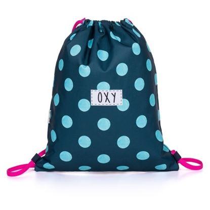Obrázek Sáček na přezuvky OXY Dots - modrý