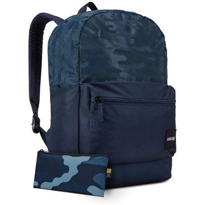 Obrázek Studentský batoh Founder - modrá se vzorem