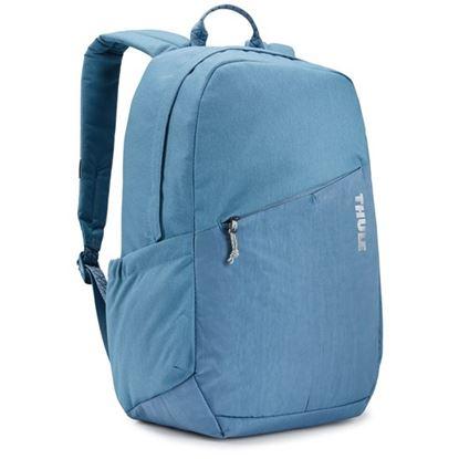"""Obrázek Studentský batoh s kapsou na notebook 14"""" Notus - světle modrá"""