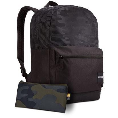Obrázek Studentský batoh Founder - černá se vzorem