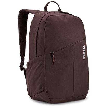 """Obrázek Studentský batoh s kapsou na notebook 14"""" Notus - tmavě fialová"""