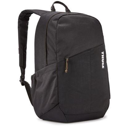 """Obrázek Studentský batoh s kapsou na notebook 14"""" Notus - černá"""