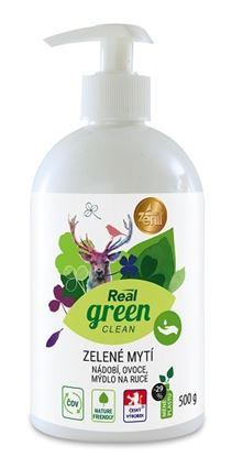 Obrázek Real green EKO prostředek na ruce a nádobí 500ml