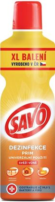 Obrázek SAVO PRIM s vůní univerzální dezinfekční čistič 1200 ml