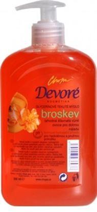 Obrázek Devoré tekuté mýdlo broskev 500 ml