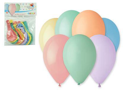 Obrázek LUMA nafukovací balonky 26 cm 10 ks Pastel mix