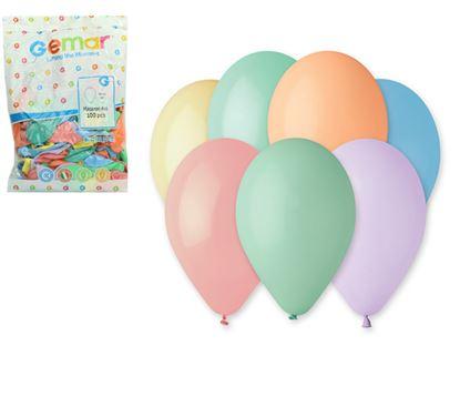 Obrázek LUMA nafukovací balonky 26 cm 100 ks Pastel mix