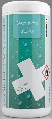 Obrázek Čistící dezinfekční utěrky SEPTOCLENIUM - 100 ks