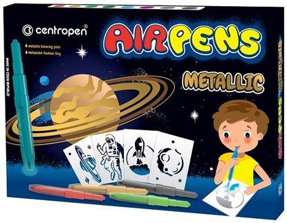 Obrázek Centropen Airpens 1590 Metalic sada 8 ks