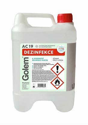 Obrázek Druchema Golem AC-19 dezinfekce na ruce 5 l