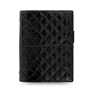 Obrázek Filofax Domino Luxe A7 kapesní týdenní 2021 černá