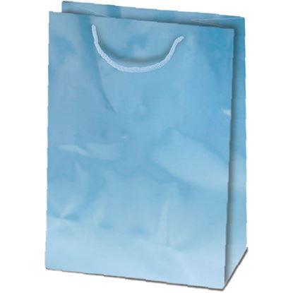 Obrázek Taška dárková L modrá - 23 x 32 cm