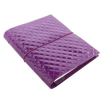 Obrázek Filofax Domino Luxe A5 týdenní  fialová