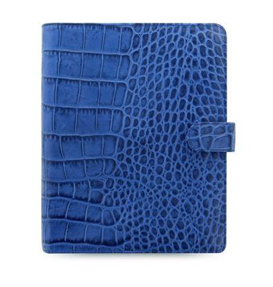 Obrázek Filofax Classic Croc A5 týdenní modrá