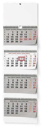 Obrázek Kalendář nástěnný pracovní - čtyřměsíční skládaný / BNC6