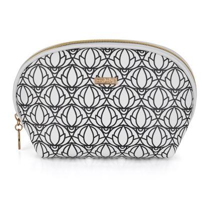 Obrázek KPP Oxylady kosmetická taška Black & White kulatá