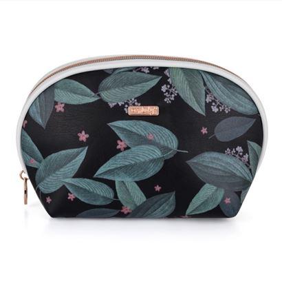 Obrázek KPP Oxylady kosmetická taška Dark leaves kulatá