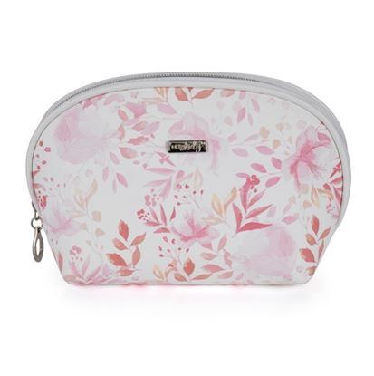 Obrázek KPP Oxylady kosmetická taška Pink flowers kulatá