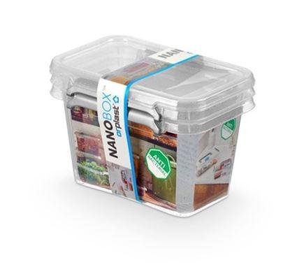Obrázek Nanobox box Donau antibakteriální 0,65l / 2 ks