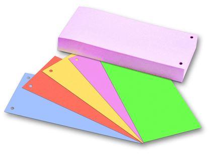 Obrázek Rozdružovací kartonové jazyky  - barevný mix / 50 ks