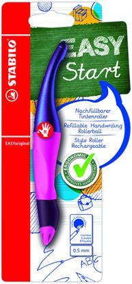 Obrázek Inkoustový roller STABILO EASY Original Holograph - červená / pro praváky