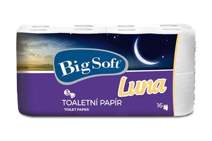 Obrázek Big Soft toaletní papír LUNA - 16 ks / třívrstvý