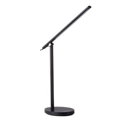 Obrázek Kancelářská stolní LED lampa Kanlux Rexar černá