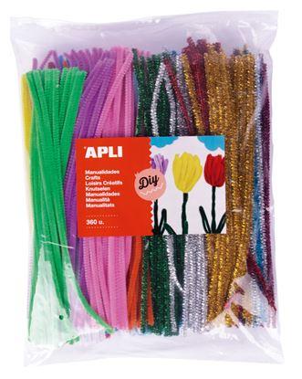 Obrázek Modelovací drátky APLI Jumbo / mix barev / 360 ks