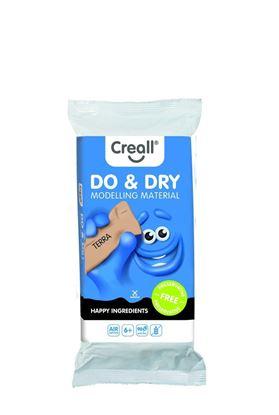 Obrázek Modelovací samotvrdnoucí hmota Creall Do&Dry hnědá / hypoalergenní / 500 g