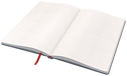 Obrázek Kniha záznamní Leitz COSY - A5 / linka / sametově šedá