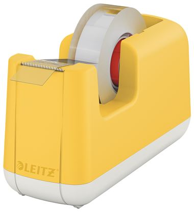 Obrázek Stolní odvíječ lepicí pásky Leitz COSY - teplá žlutá