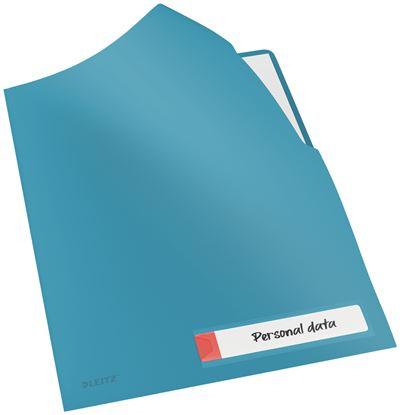 Obrázek Zakládací obal A4 Leitz COSY - tvar L / klidná modrá / 3 ks