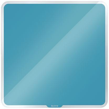 Obrázek Tabule magnetická skleněná Leitz COSY - 45 x 45 cm / klidná modrá