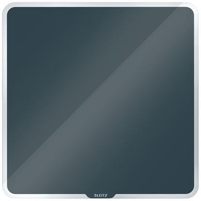 Obrázek Tabule magnetická skleněná Leitz COSY - 45 x 45 cm / sametově šedá