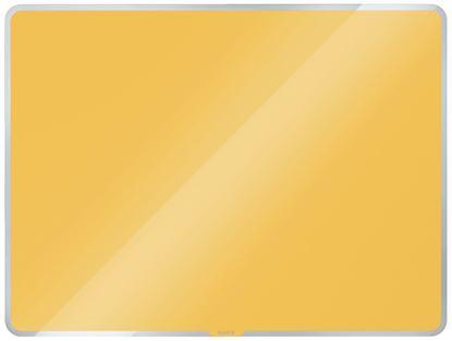 Obrázek Tabule magnetická skleněná Leitz COSY - 60 x 40 cm / teplá žlutá