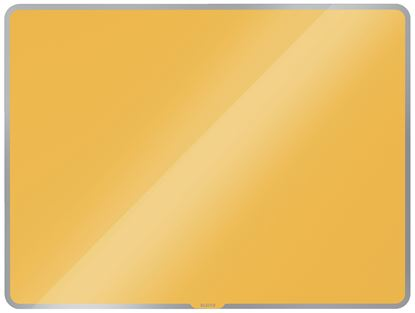 Obrázek Tabule magnetická skleněná Leitz COSY - 80 x 60 cm / teplá žlutá