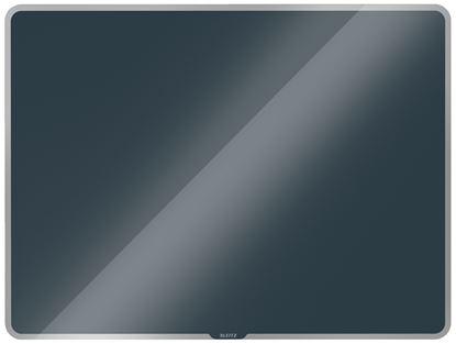 Obrázek Tabule magnetická skleněná Leitz COSY - 80 x 60 cm / sametově šedá