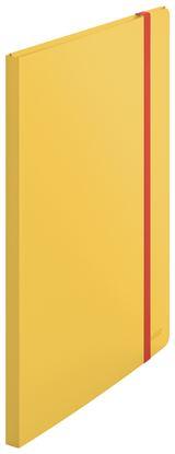 Obrázek Prezentační desky A4 Leitz COSY - 20 kapes / teplá žlutá