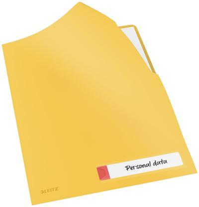 Obrázek Zakládací obal A4 Leitz COSY - tvar L / teplá žlutá / 3 ks